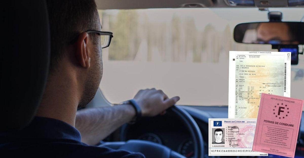 Perte carte grise et permis de conduire