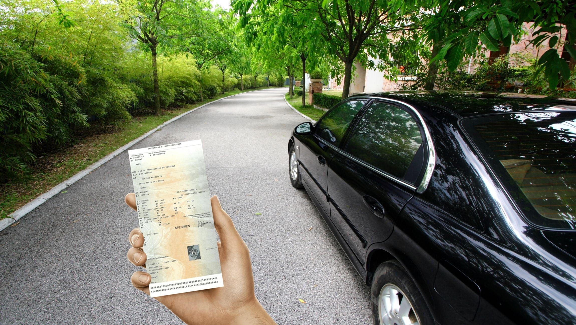 Perte carte grise avant vente d'un véhicule : que faire ?