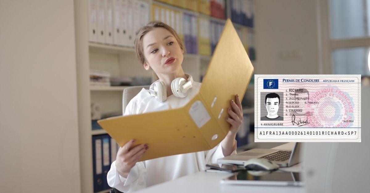Documents / papiers pour un duplicata de permis de conduire