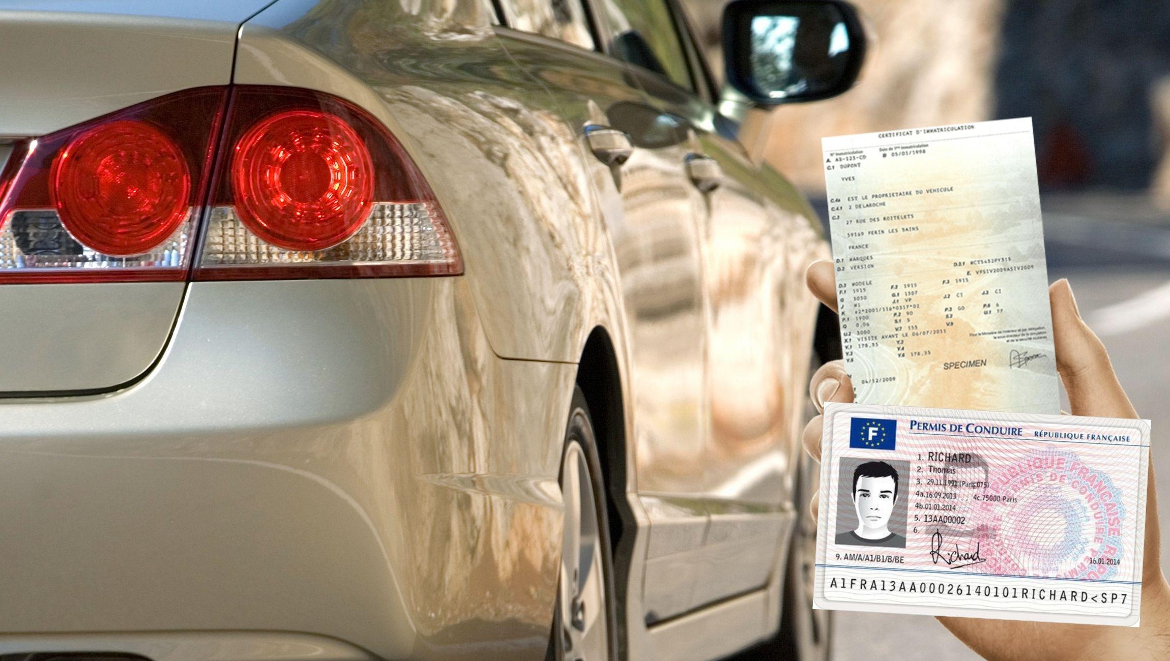 Déclaration de perte carte grise et permis de conduire ANTS