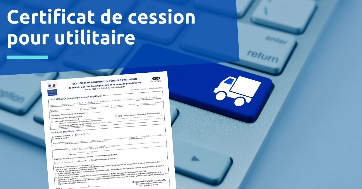 certificat de cession utilitaire entreprise