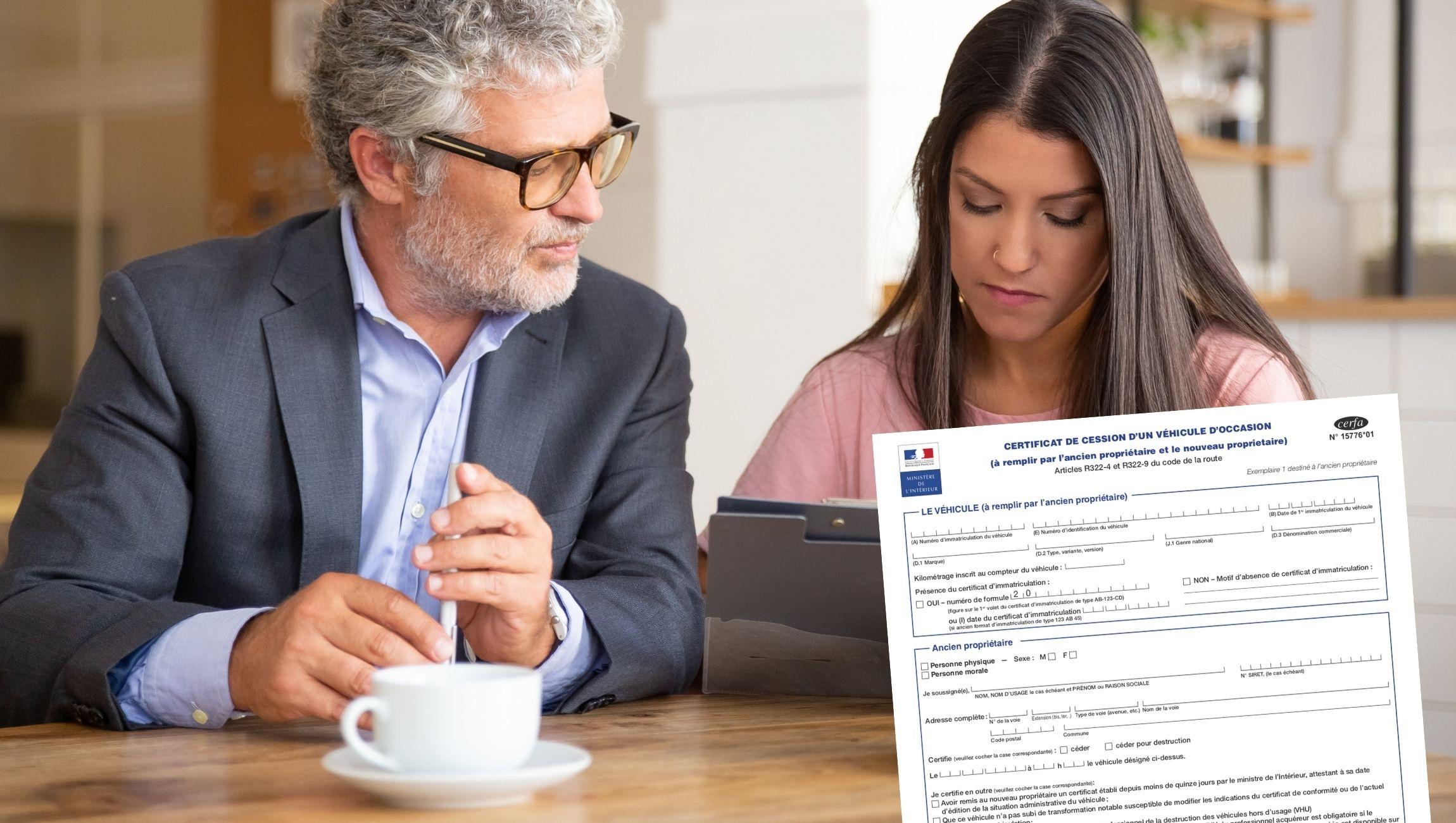 Certificat de cession avec ou sans kilométrage : que faire ?