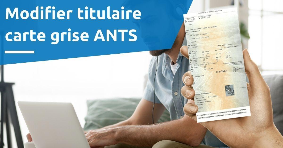 site carte grise ANTS