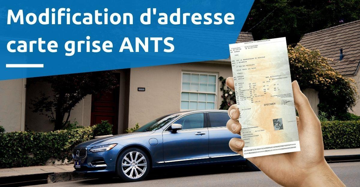 adresse carte grise ANTS