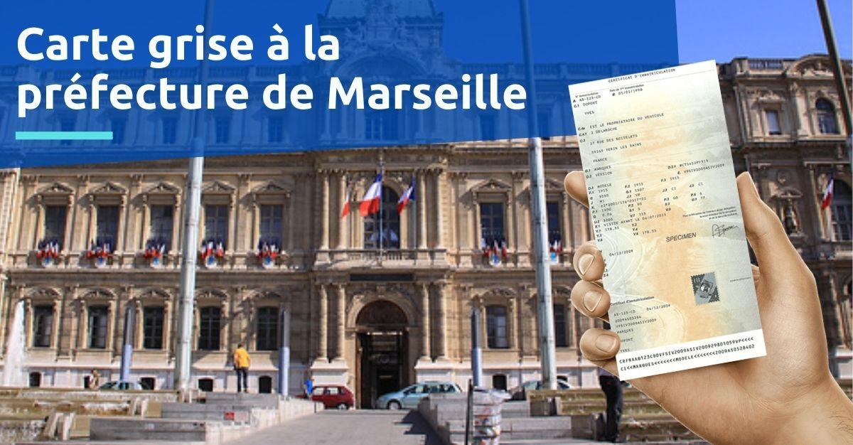 Carte grise prefecture marseille
