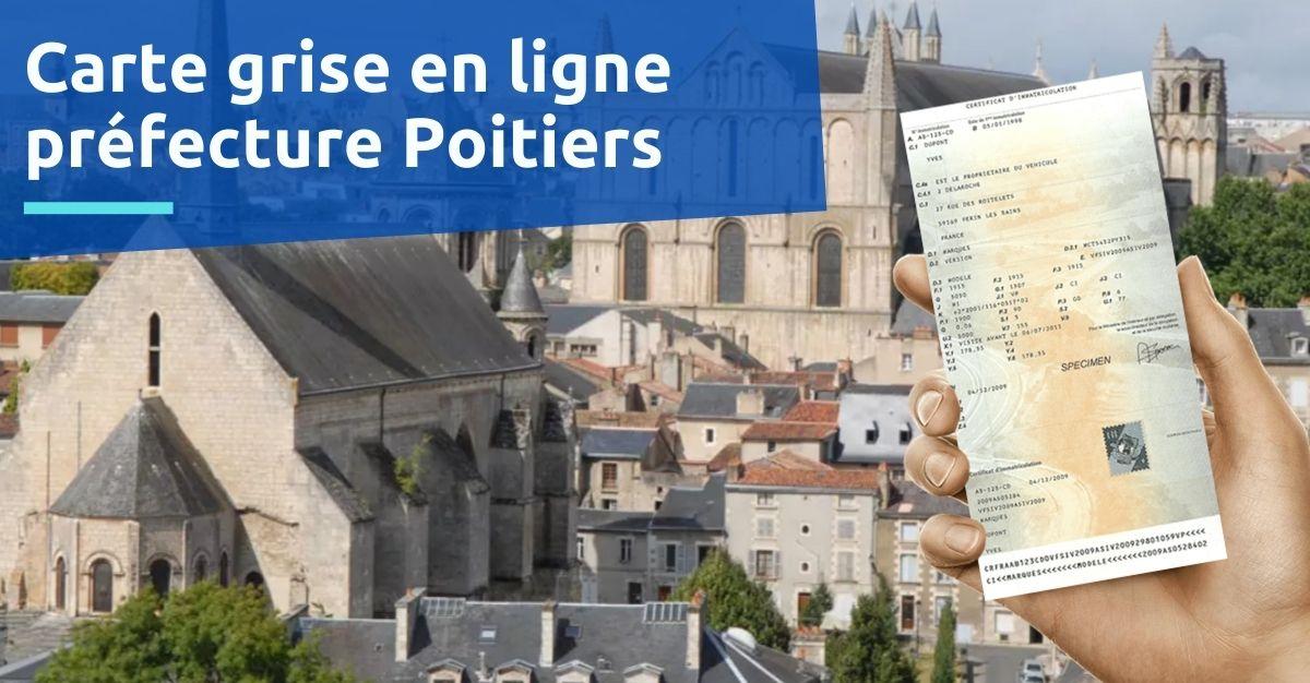 Carte grise préfecture Poitiers