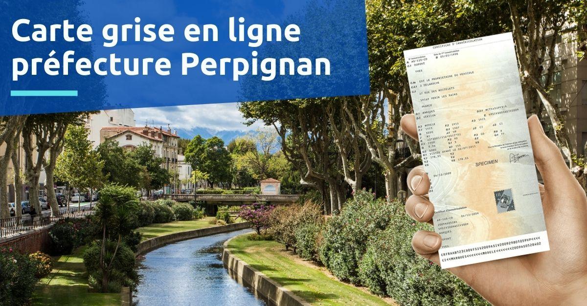 Carte grise préfecture Perpignan