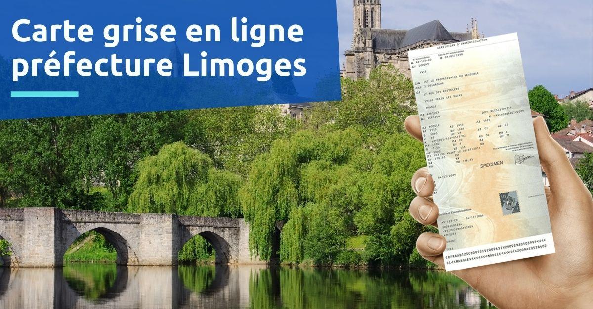 Carte grise à la préfecture de Limoges
