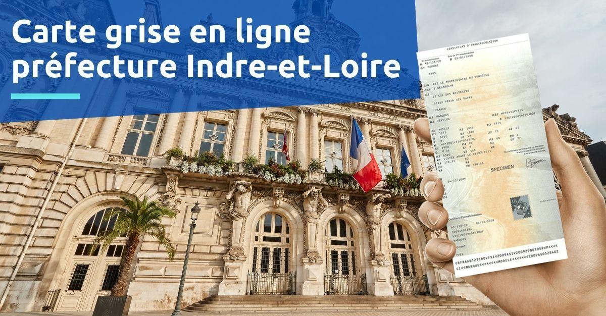 carte grise en préfecture Indre-et-Loire