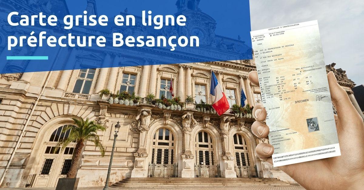 Carte grise préfecture Besançon