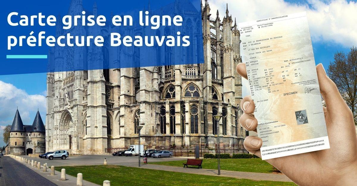Carte grise préfecture Beauvais