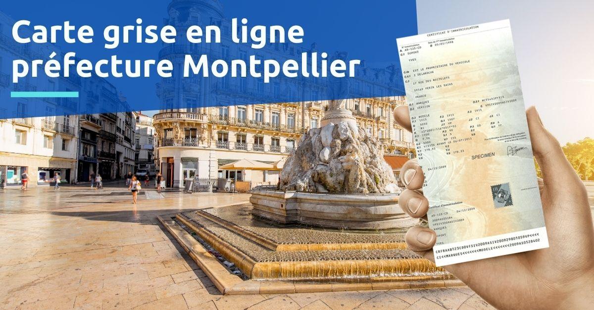 Préfecture Montpellier service carte grise