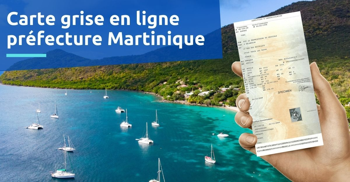 Préfecture de la Martinique carte grise
