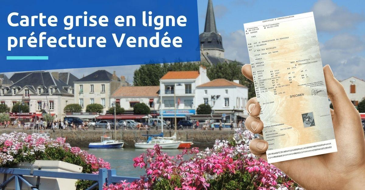 Préfecture de la Vendée carte grise