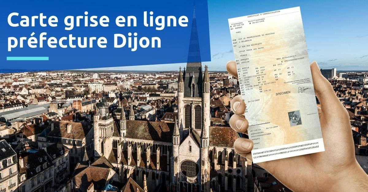 Préfecture Dijon carte grise