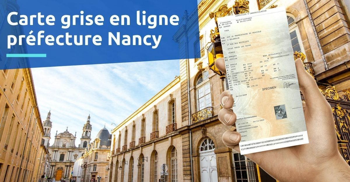 Carte grise prefecture nancy