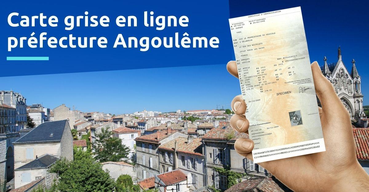 Carte grise préfecture Angoulême