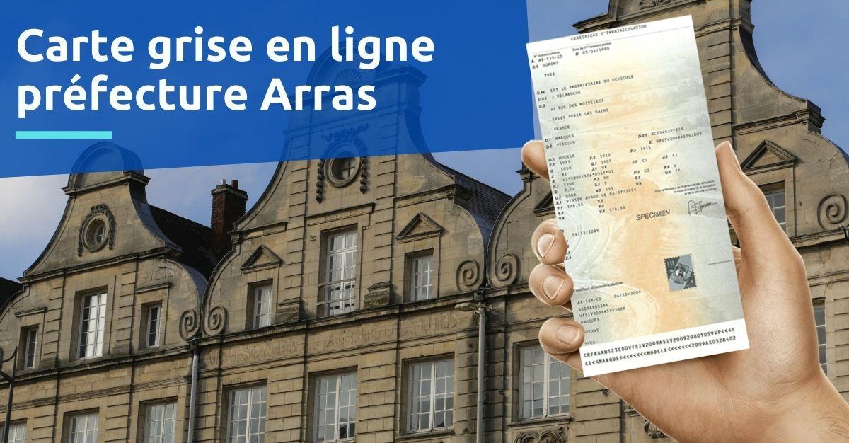 Carte grise préfecture Arras