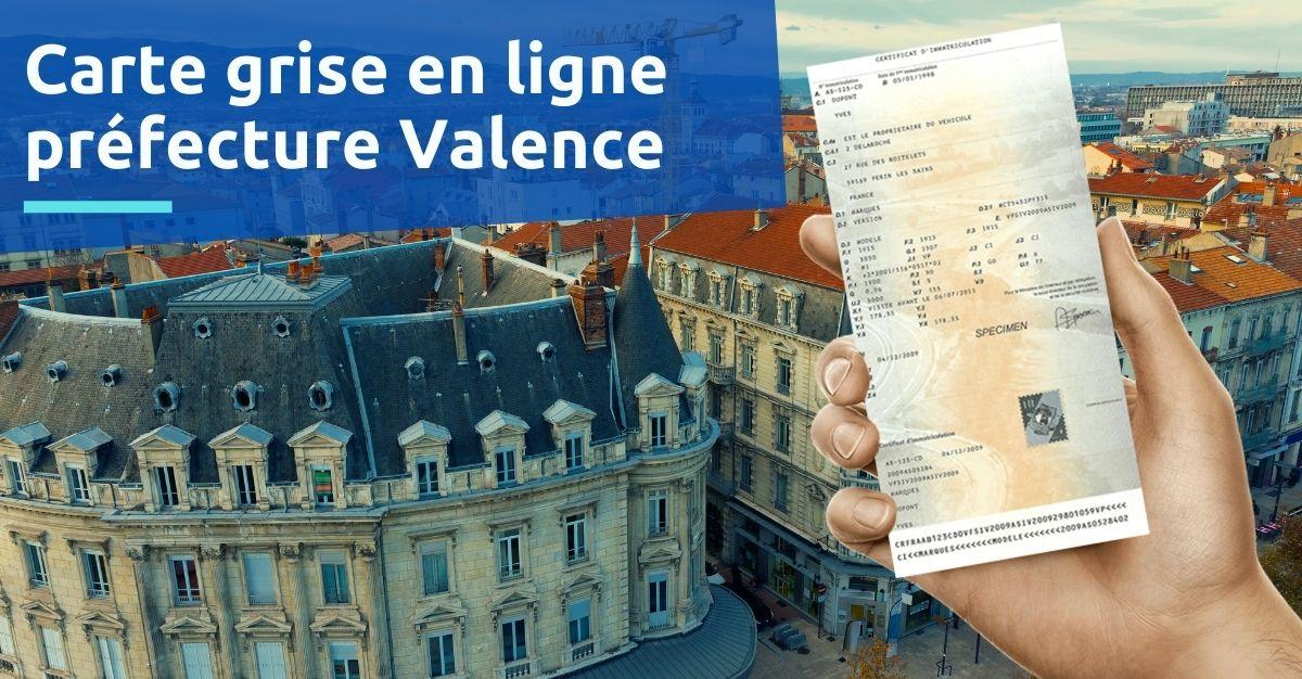 Préfecture Valence carte grise