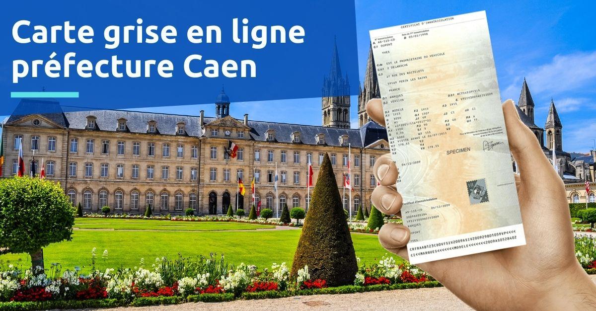 Carte grise préfecture Caen