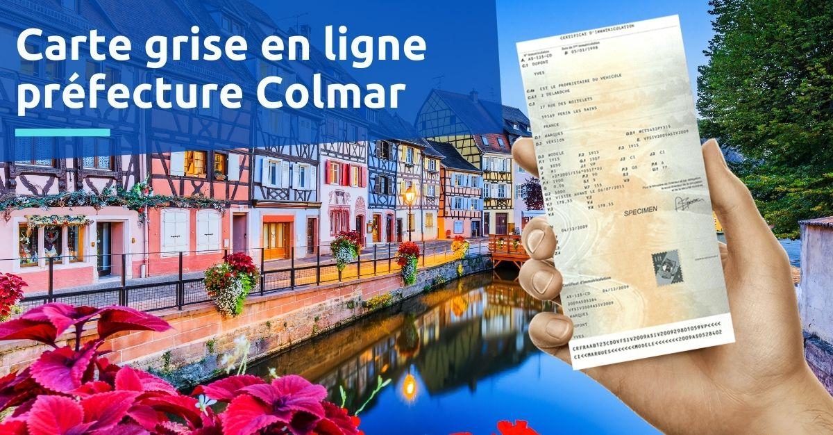 Préfecture Colmar carte grise