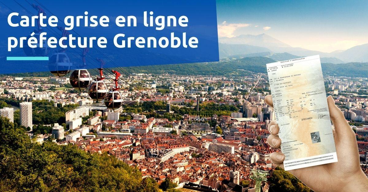 Carte grise préfecture Grenoble