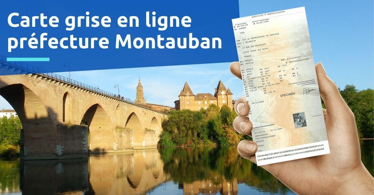 Préfecture Montauban carte grise