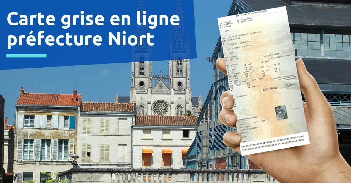 Préfecture de Niort carte grise