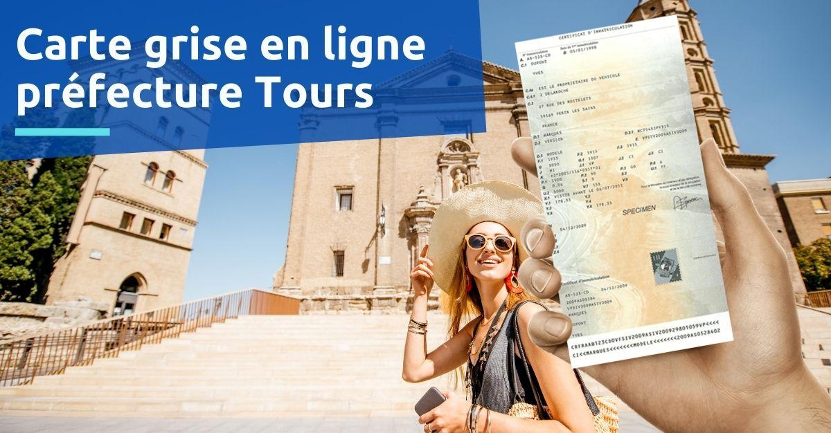 Préfecture Tours carte grise