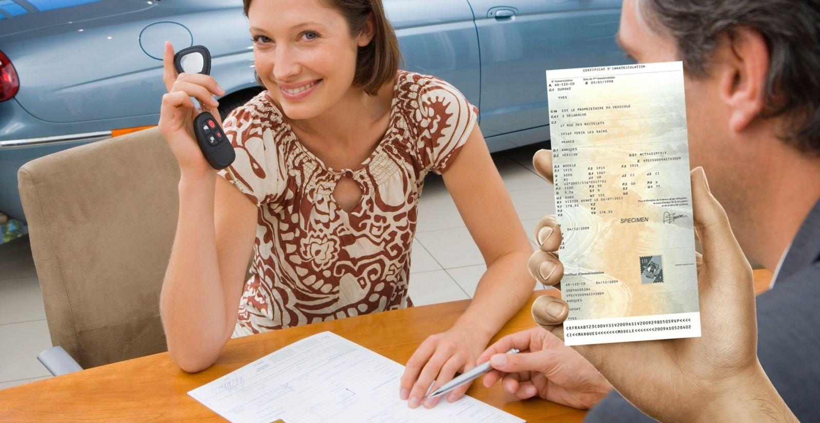 Changement titulaire / nom carte grise nouveau propriétaire / nouvelle immatriculation