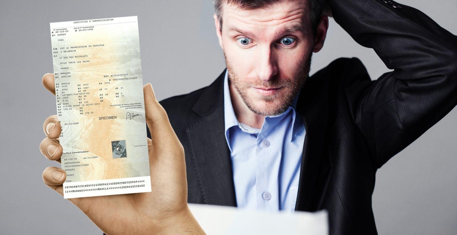 Perte carte grise : quels documents fournir pour obtenir un duplicata ?
