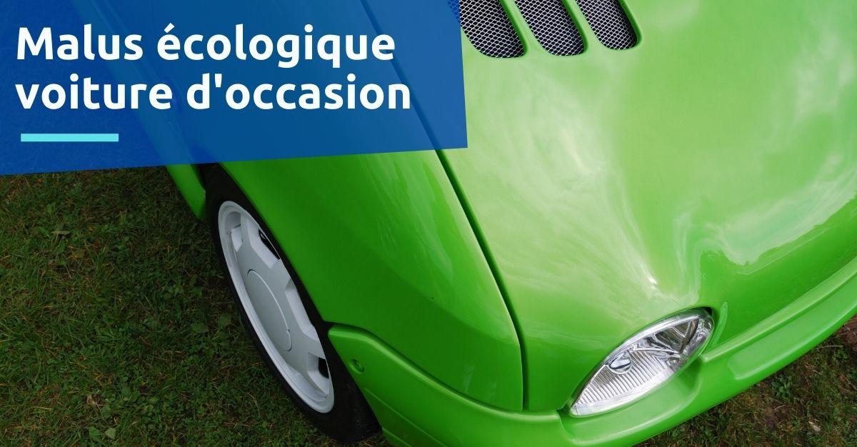 malus écologique voiture d'occasion