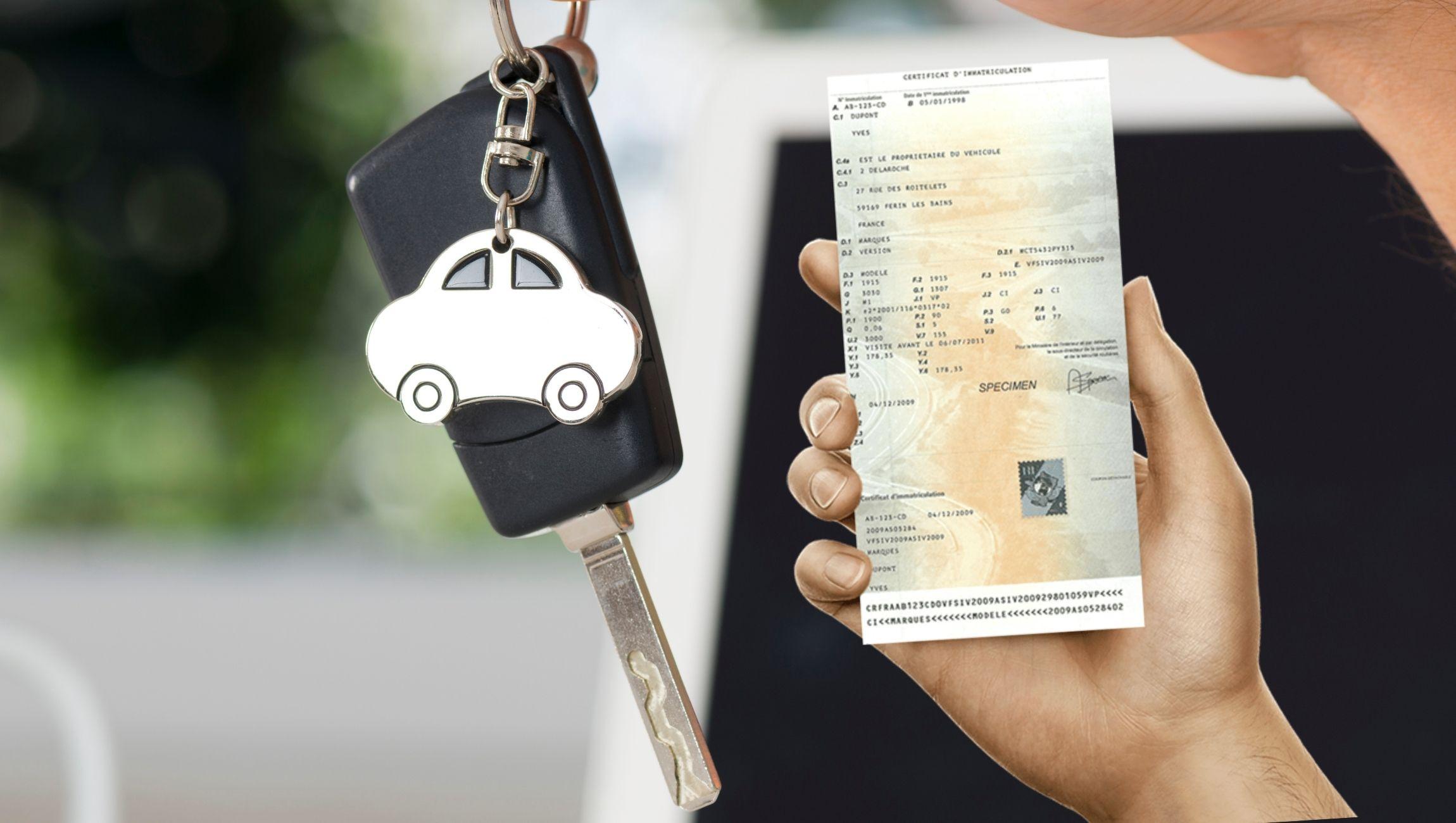 Faire immatriculer sa voiture : immatriculer un véhicule occasion