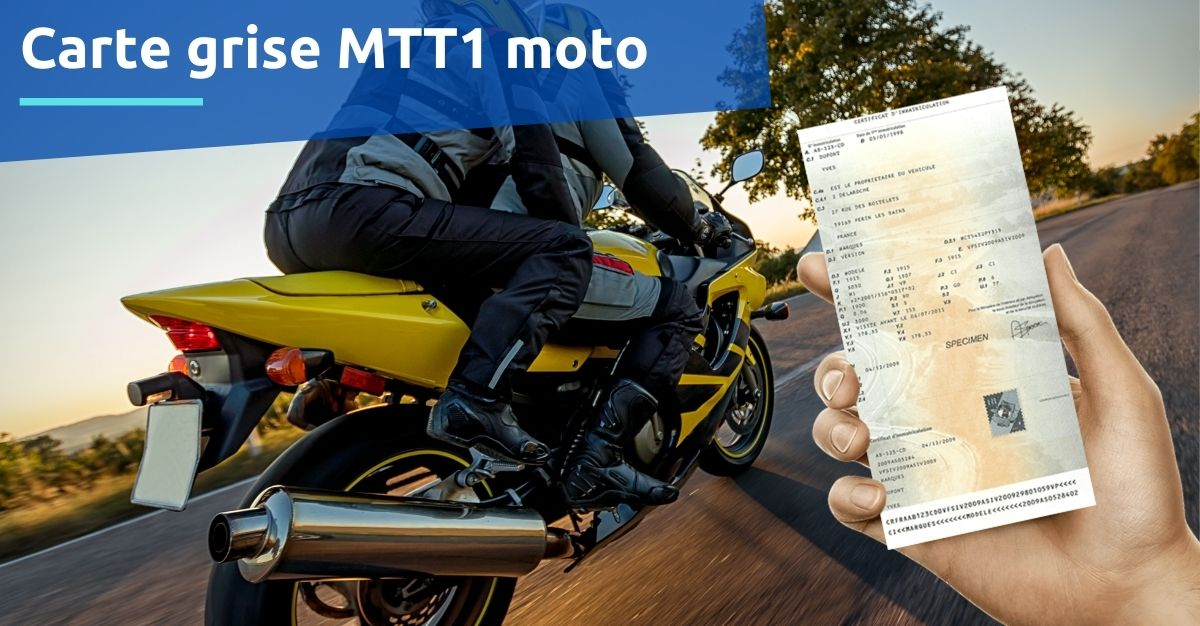 carte grise mtt1 moto