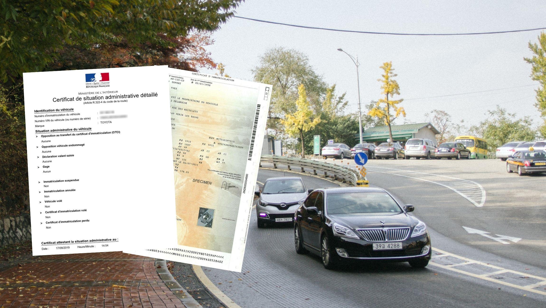 Certificat de non gage obligatoire ou pas pour carte grise