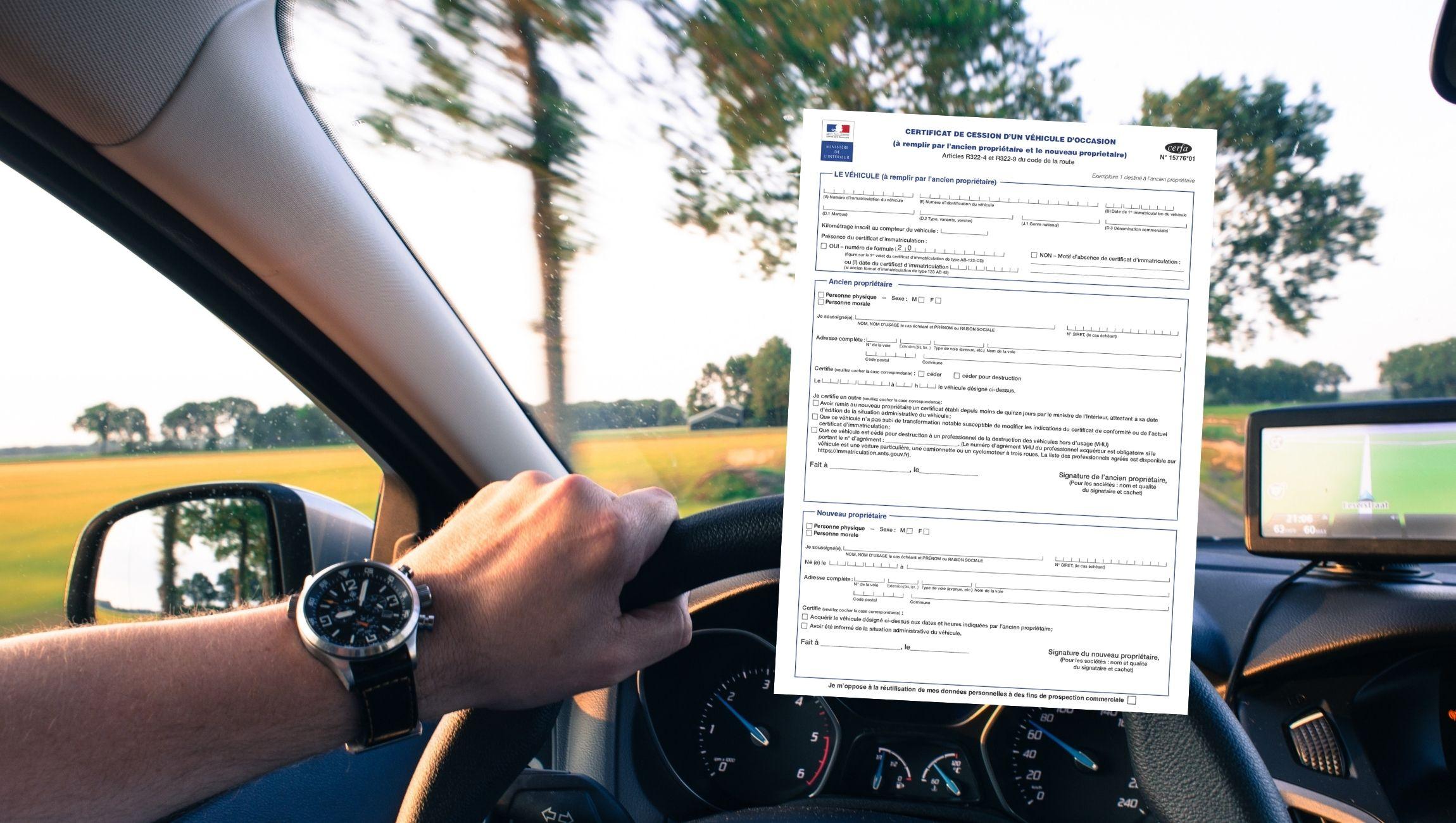 Certificat de cession : quoi en faire ?