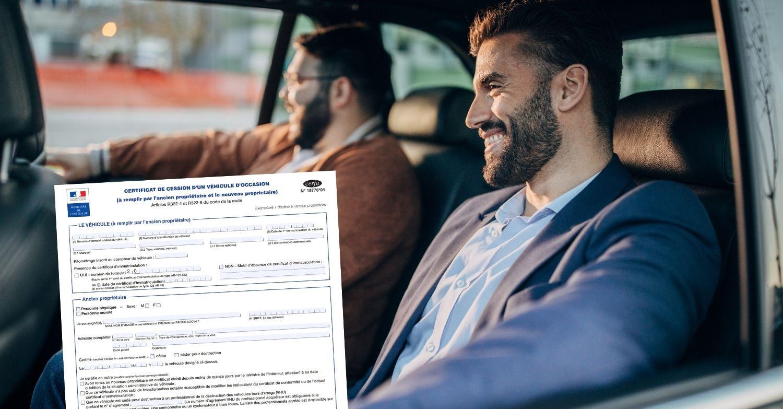 Certificat de cession 2 vendeurs