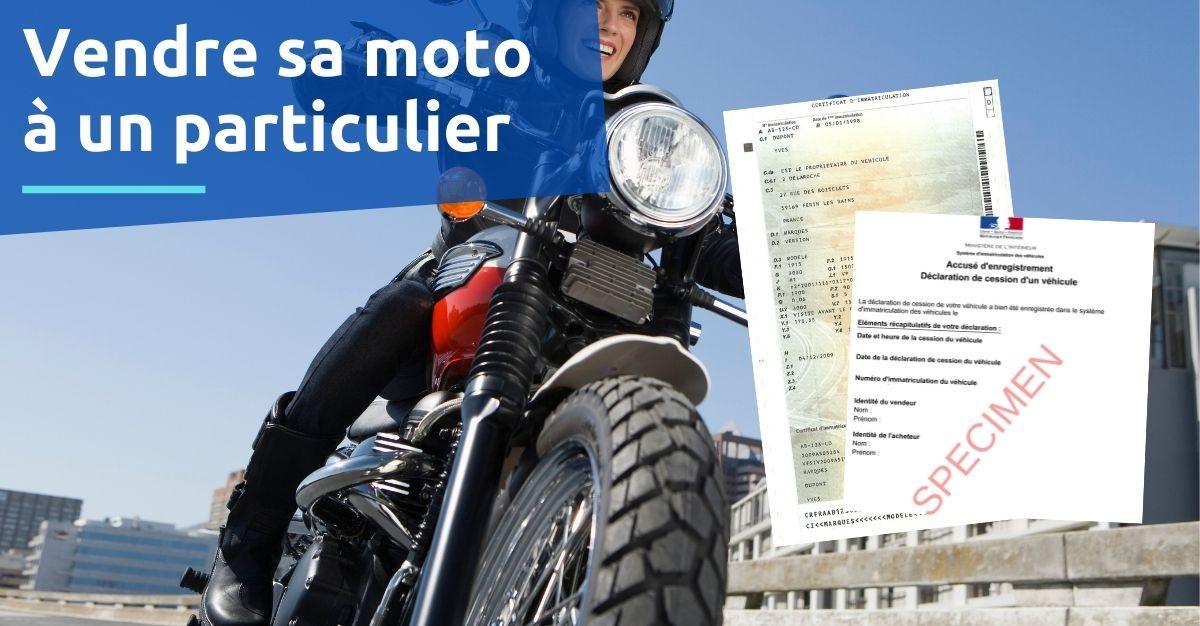 vendre sa moto à un particulier