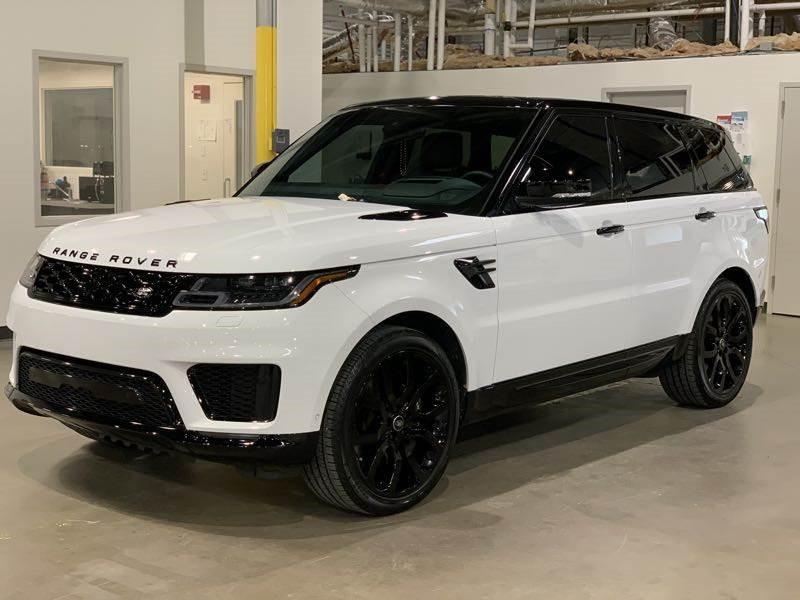 Range Rover Blackout after