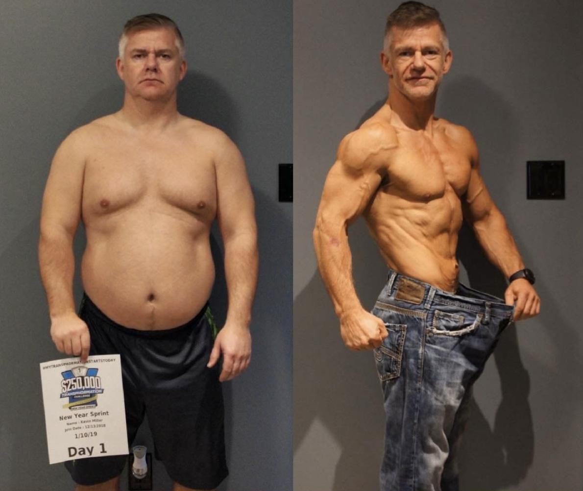 gfit client kevin miller before and after picture