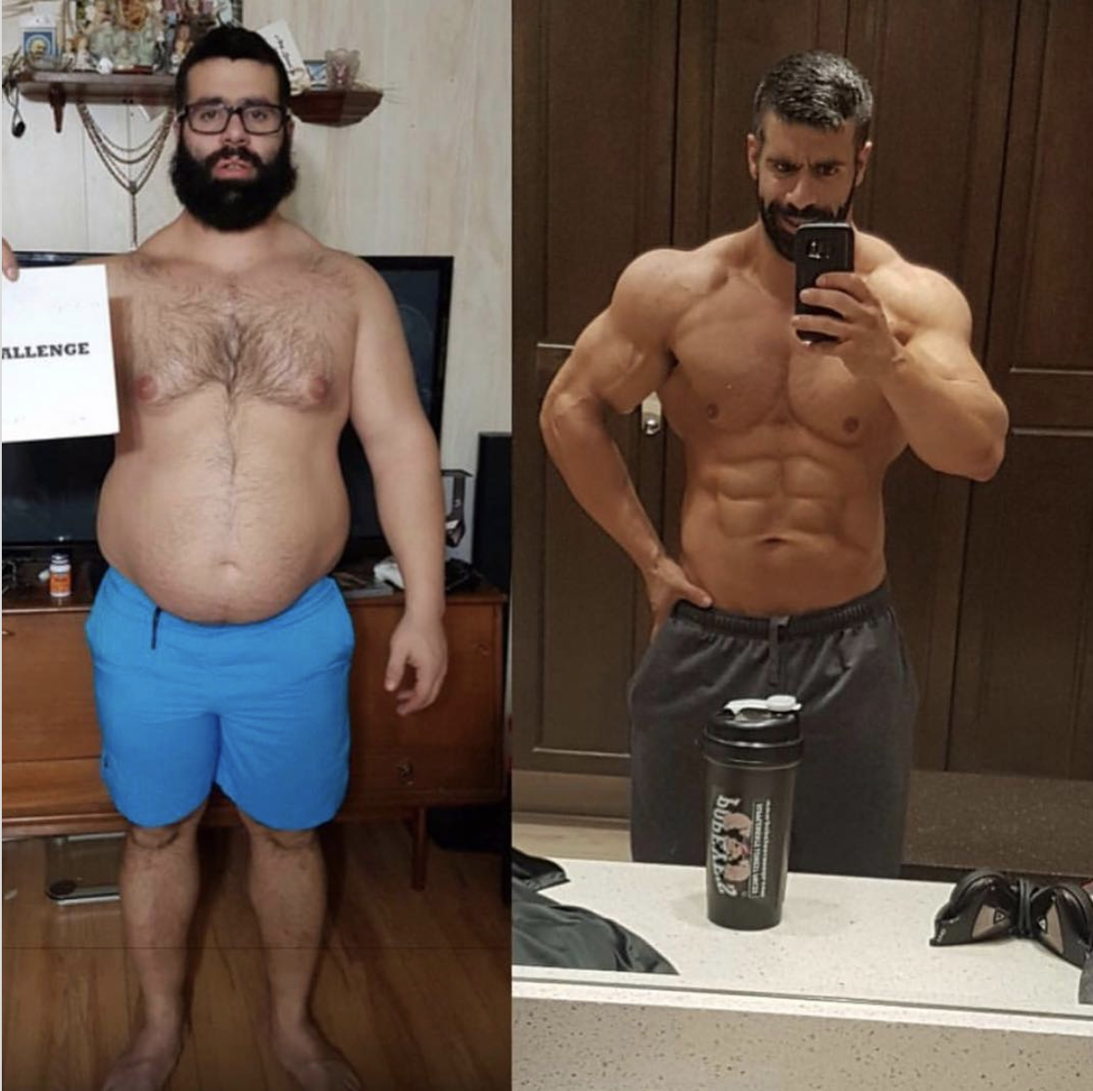 gfit client tyler ford before and after picture