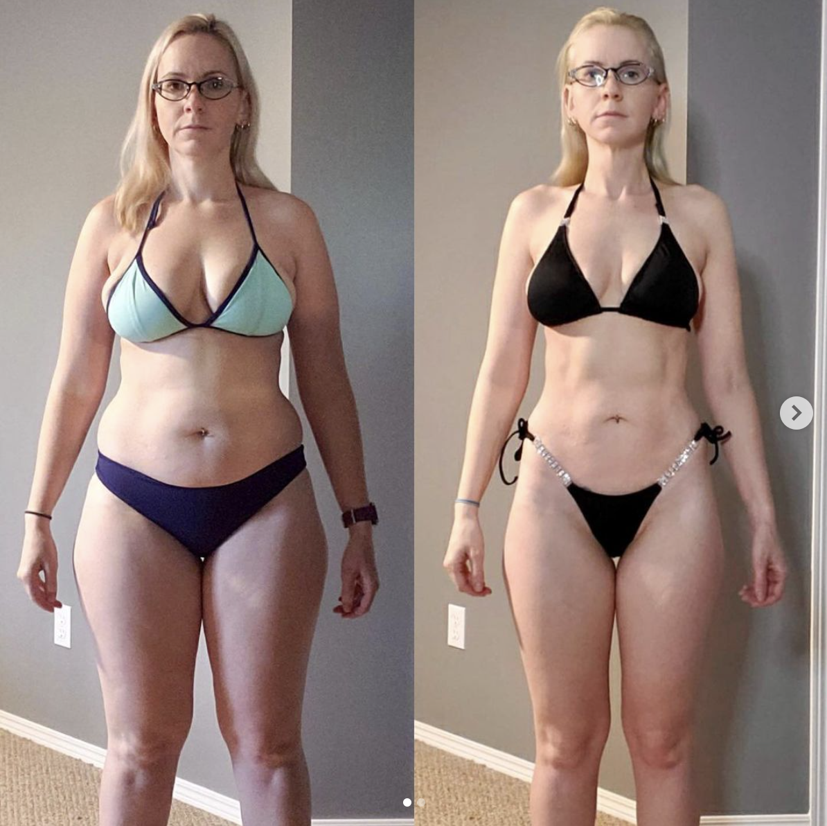 gfit client jacqui rademaker before and after picture