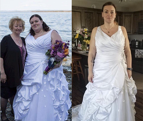 gfit client samantha sheppard before and after photo