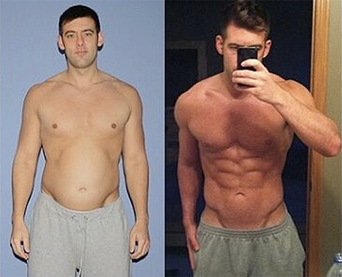 gfit client lyndon reid before and after photo