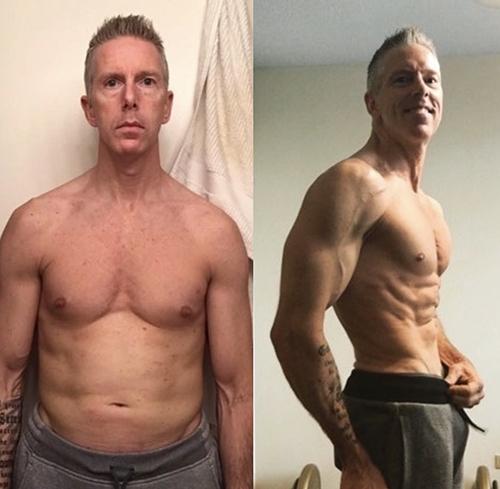 gfit client matt blair before and after photo