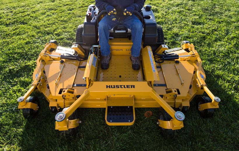 """Hustler Super 104 complete mower blade set 5 blades for 104/"""" deck OEM Hustler"""