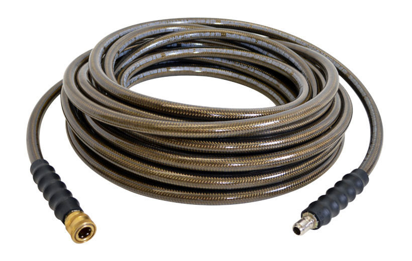 Image of a brown hose