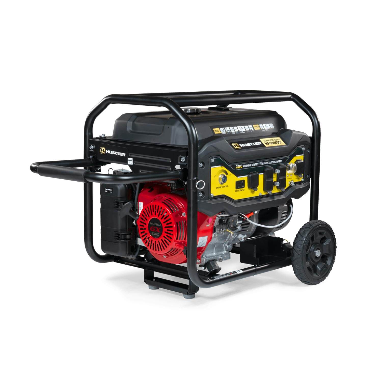 Image of front three quarters of a generator
