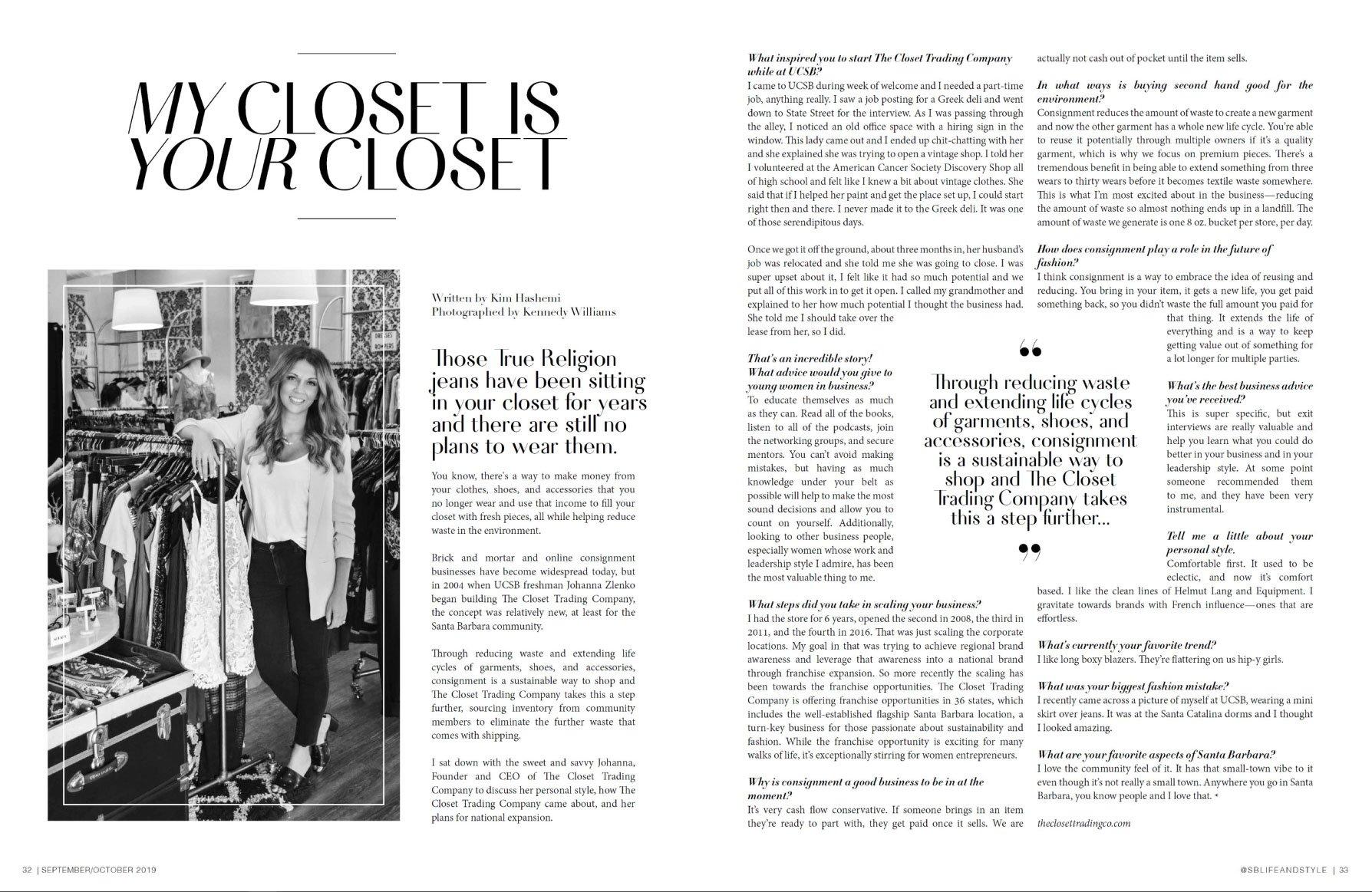 Santa Barbara Life and Style Magazine - by Kim Hashemi