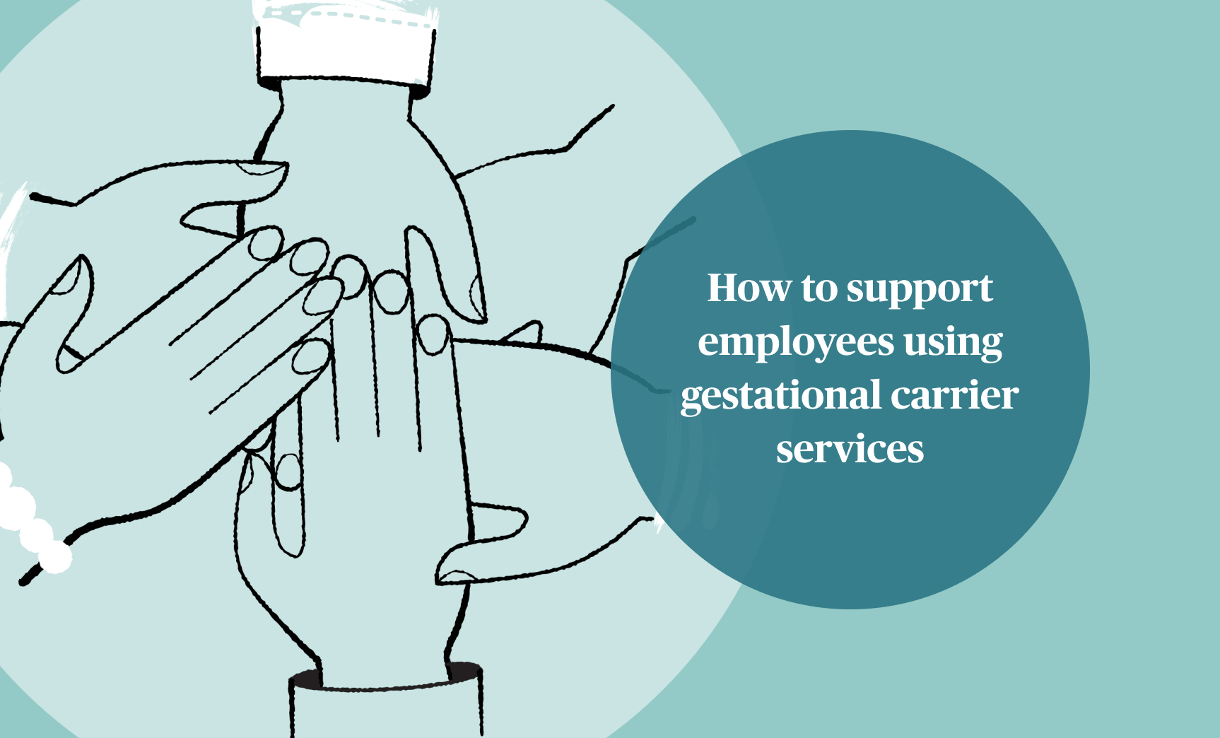 How to support employees using gestational carrier services
